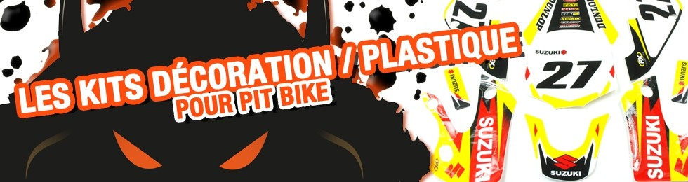 Piece Kit plastique / Kit décoration Pit Bike et Dirt Bike