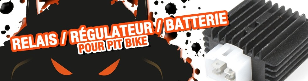 Piece Relais / Régulateur / Batterie Pit Bike et Dirt Bike