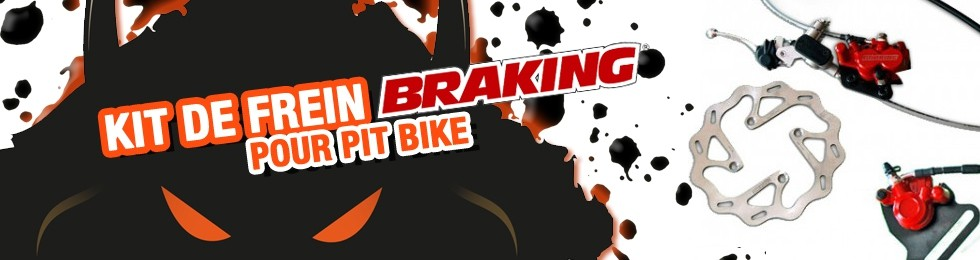 Piece Kit frein Braking Pit Bike et Dirt Bike