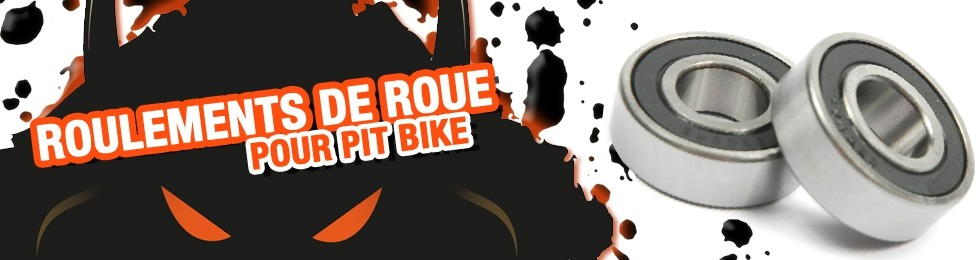 Piece Axe de roue / Roulement Pit Bike et Dirt Bike