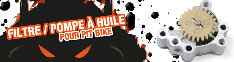 Piece Filtre / Pompe à huile Pit Bike et Dirt Bike